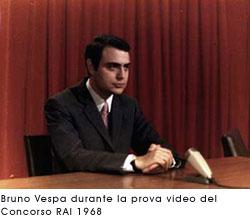 Un giovane Bruno Vespa